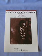 The Power Of Love Easy Piano Sheet Music Celine Dion