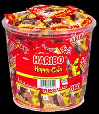 100 St.Happy Cola Minibeutel HARIBO Wurfmaterial Karneval Fasching Kamelle