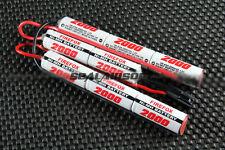 FireFox 9.6V 2000mAh Ni-MH AEG Airsoft CQB/R Battery T