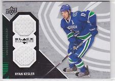 2011 11-12 Black Diamond Dual Jerseys #VANRK Ryan Kesler Level F