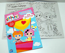 New Lalaloopsy Giant Coloring & Activity Book Sew Magical Sew Cute Doll 96 pages