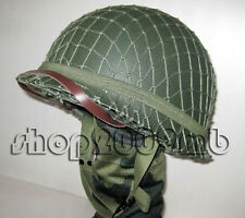 WW2 Helmets  US Army M1 Green Helmet W Net Replica Collectibles Reproductions