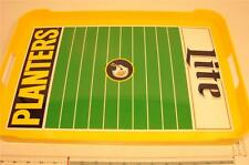 B59 VINTAGE PLANTERS NUTS VS LITE BEER FOOTBALL SUPER BOWL PARTY SERVING TRAY