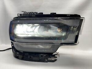 2019 2020 Dodge Ram 2500 Passenger Side Headlight Black P68360178ac ⚠️DAMAGED⚠️