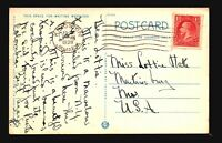 Jamaica 1938 Postcard to USA - Z17667