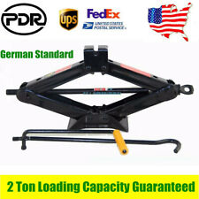 2-Ton Scissor Jack RV Trailer Stabilizer Leveling w/ handle & Power Drill Socket