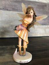 "Rare Faerie Glen ""Discover"" Magic Fairy Series Figurine FG860 Retired 2007"