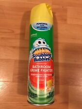 Scrubbing Bubbles Bathroom Grime Fighter Citrus Foam Soap 20oz (Brand New)