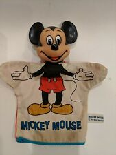 New listing Vintage Mickey Mouse Walt Disney Hand Puppet in Used Condition