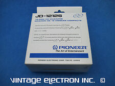 New Pioneer Jd-1212S Compact Disc Car Cd Changer Cartridge / Magazine - 12 Disc
