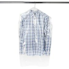 """Hangerworld™ 20 Clear 38"""" Polythene Clothes Cover Garment Storage Protector Bag"""