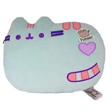 Pusheen the Cat PUP01 Cushion Laying Down Pastel Green