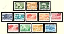 Luchtpost LP 35 - L46 MNH PF Suriname 1965 verschillende voorstellingen airmail