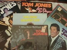 Tom Jones 7 LP LOT  ~ Please see pictures for Titles and descriptions