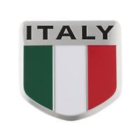 Italien Italy Fahne Flagge Logo Alu 3D Logo Aufkleber Emblem Auto Motorrad Boot