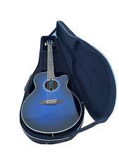 Blue Electric/ Acoustic Guitar