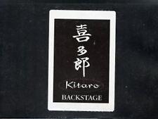 Kitaro 1990's - Satin backstage pass
