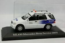 Cararama Schuco 1/43 - Mercedes ML 430 MB Servizio 24H 2005