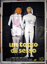 manifesto 4F film A DIFFERENT STORY - UN TOCCO DI SESSO Perry King Meg Foster
