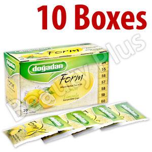 Form Lemon Tea bags instant Dogadan (10 boxes x 20 bags)