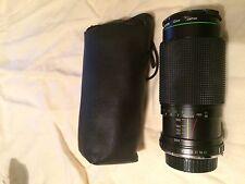 Hanimex  80 - 200mm Zoom Lense MC Auto Zoom 52mm No. 163842