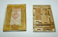 NEAT WOODEN 3-D MIYAKO PUZZLE MADE IN JAPAN