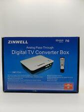 ZINWELL ZAT-970A DTV TV Converter Box Digital To Analog Tuner