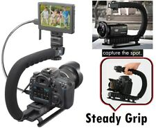 Pro Deluxe Video Stabilizing Bracket Handle for Sony HDR-XR520V HDR-XR520