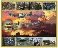 SIERRA LEONE 2000 Gomma integra, non linguellato SECONDA GUERRA MONDIALE GRAN BRETAGNA BATTAGLIA SECONDA GUERRA MONDIALE 8 V M/S III piani di francobolli