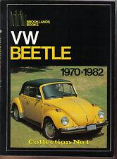 Vw Volkswagen Escarabajo 1970-1982 Collection No. 1 Brooklands Libro De Road Test