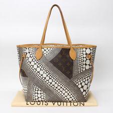 Auth Louis Vuitton Neverfull MM Yayoi Kusama Pumpkin Dot Tote M40684 10115180