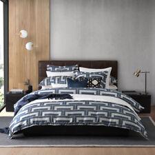 Florence Broadhurst Steps Navy Queen Bed Size Doona Duvet Quilt Cover Set