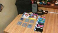 Vintage Nintendo Game Boy Lot,(8)games,mario,tunes,tetris.....(2)cases,vg!