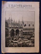 ILLUSTRAZIONE ITALIANA - N. 45/ 1923 - TORINO - Và ANNIVERSARIO VITTORIA WW1