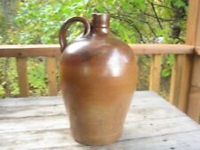 Antique ovoid stoneware jug (approx. 1 gal.)