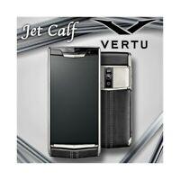 SMARTPHONE VERTU SIGNATURE TOUCH JET CALF BLACK 64GB ANDROID LUXURY PHONE-