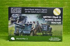 Plastic Soldier 15mm British 25pdr & Morris Quad Tractor # WW2G15005
