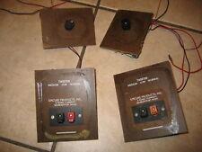 Vintage EPI Speakers Epicure set of two crossover assemblies