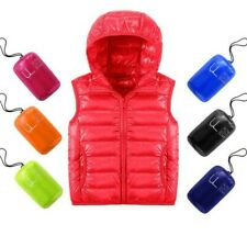 Children's Baby Boy and Girl jackets Vest Thick Duck Down Feather Warm Cotton