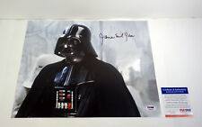 JAMES EARL JONES DARTH VADER STAR WARS SIGNED 11X14 PHOTO PSA/DNA COA #1