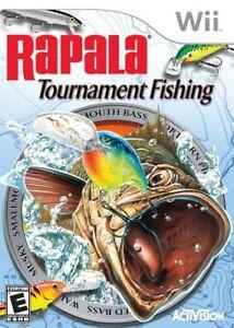 Rapala Tournament Fishing - Nintendo  Wii Game