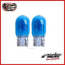 Kit 2 Lampade Simoni Racing T20 Light Blue doppio filamento 12V21-5W Luce Bianca