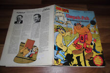 Uderzo + Goscinny - PAH doblaban en misión secreta / ZACK caja # 10 / coral 1974