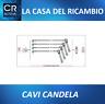 KIT CAVI CANDELA FIAT PUNTO LANCIA Y 1.2 16V Dal 99