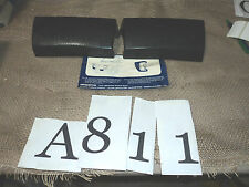 A811 - COPPIA ROSTRI GOMMA ALTISSIMO PARACOLPI BORCHIE PARAURTI FIAT 126