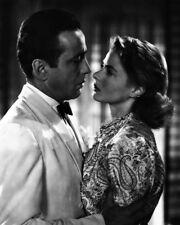 "New 8x10 Photo: Humphrey Bogart and Ingrid Bergman in Classic Movie ""Casablanca"""