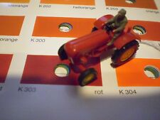 #02 Wiking Porsche Diesel Tractor 386/5 A red Schlepper