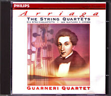 GUARNERI QUARTET: ARRIAGA String Quartet 1 2 3 PHILIPS CD 1996 Streichquartett