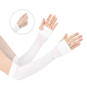 UV Sun Protection Reflective Arm Cooling Sleeves Outdoor Sports for Men Women
