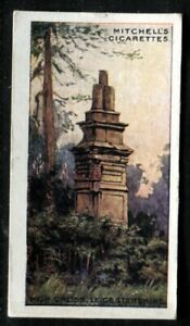 Tobacco Card, Mitchell, FAMOUS CROSSES, 1923, High Cross Leicestershire, #25